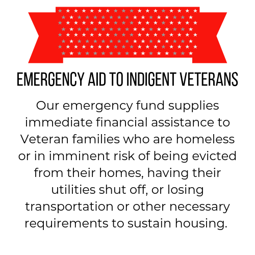 emergency aid to indigent veterans